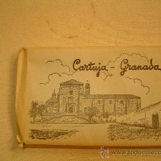 Postales: BROQUE DE 15 POSTALES CARTUJA DE GRANADA. Lote 25510288