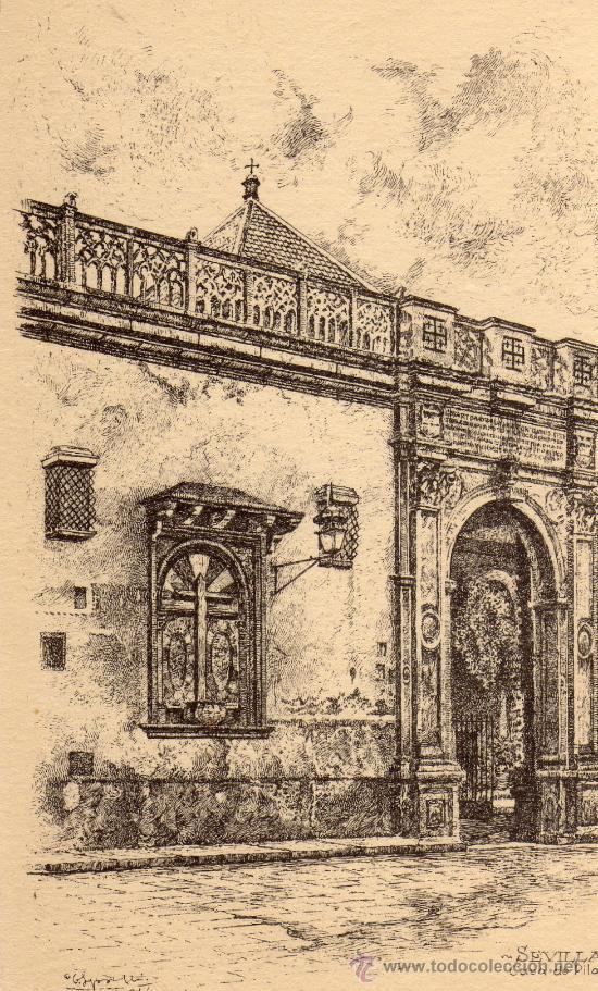 SEVILLA CASA DE PILATOS COLECCIÓN ESPAÑA ARTÍSTICA Nº 32 SIN CIRCULAR (Postales - España - Andalucía Antigua (hasta 1939))
