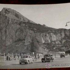 Postales: ANTIGUA FOTO POSTAL DEL PEÑON DE GIBRALTAR - LA LINEA DE LA CONCEPCION - CADIZ - NO CIRCULADA.. Lote 25925008