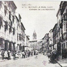 Postales: ALCALA LA REAL (JAEN).-CARRERA DE LAS MERCEDES, HACIA 1910.- REPRODUCCION. Lote 26122023