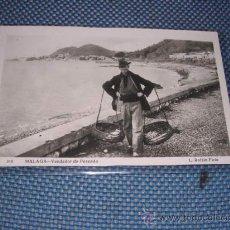 Postales: 310 .- MALAGA - VENDEDOR DE PESCADO, L. ROISIN FOT. 14X9 CM.. Lote 26391825