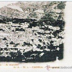 Postales: CAZORLA (JAEN).-VISTA GENERAL.- AÑO 1904.- (REPRODUCCION). Lote 26392106