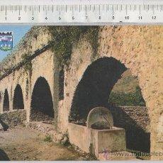 Postales: TARJETA POSTAL DE ALMUÑECAR GRANADA ARCOS DE TORRECUEVAS FUENTE. Lote 26435795