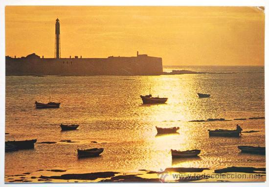 CADIZ. PUESTA DE SOL. (Postales - España - Andalucia Moderna (desde 1.940))
