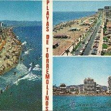 Postales: PLAYAS DE TORREMOLINOS (MÁLAGA) - COSTA DEL SOL - EDICIONES DOMINGUEZ - AÑOS 70. Lote 27010142