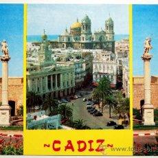 Postales: CADIZ. VARIAS VISTAS.. Lote 27099774