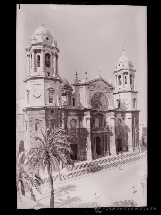 CLICHE ORIGINAL - CADIZ, NEGATIVO EN CELULOIDE - EDICIONES ARRIBAS (Postales - España - Andalucía Antigua (hasta 1939))