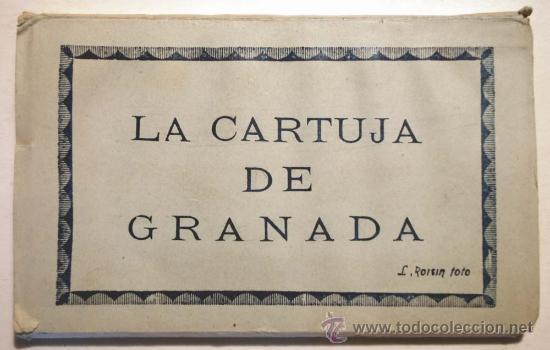 GRANADA. LA CARTUJA DE GRANADA. ESTUCHE DESPLEGABLE 15 POSTALES. (Postales - España - Andalucia Moderna (desde 1.940))