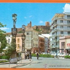 Postales: ALCALA LA REAL - JAEN - PASEO , CALLE MIGUELDE CERVANTES , AL FONDO LA MOTA - Nº 3 ED. ARRIBAS. Lote 27325198