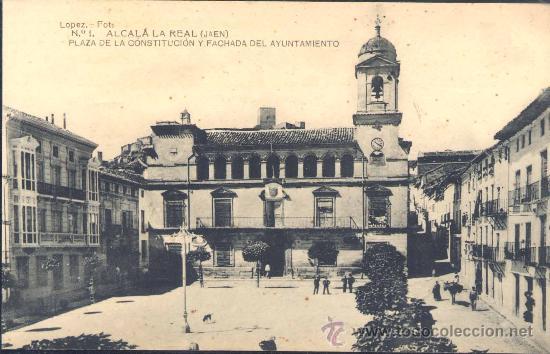 Alcal la real ja n plaza de la constituci comprar postales antiguas de andaluc a en Spa alcala la real