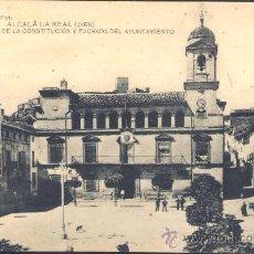 Postales: ALCALÁ LA REAL( JAÉN).- PLAZA DE LA CONSTITUCIÓN Y FACHADA DEL AYUNTAMIENTO. Lote 27326017