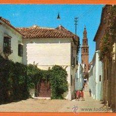 Postales: ECIJA - SEVILLA - CALLE DE FELIPE ENCINAS Y TORRE DE SAN GIL - Nº 2006 EDICIONES ARRIBAS. Lote 27359004