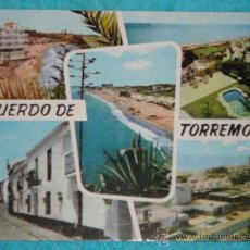 Postales: 3 TARJETAS POSTALES DE LA COSTA DEL SOL. MALAGA. AÑOS 60-70. Lote 27505507