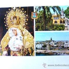 Postales: POSTAL, SEVILLA, ANDALUCIA, LA MACARENA, LA GIRALDA VISTA DESDE EL ALCAZAR, TORRE DEL ORO, Nº217. Lote 27522894