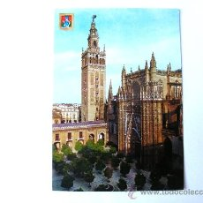 Postales: POSTAL, SEVILLA, ANDALUCIA, LA CATEDRAL Y LA GIRALDA, Nº60. Lote 27522913