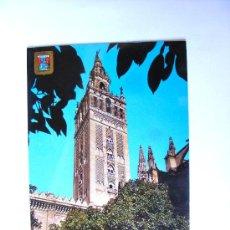Postales: POSTAL, SEVILLA, ANDALUCIA, LA GIRALDA, DETALLE DE LA CATEDRAL, Nº266. Lote 27523180