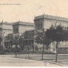 Postales: SEVILLA. PALACIO DE BELLAS ARTES. CIRCULADA.FOTOTIPIA HAUSER Y MENET.. Lote 27633703