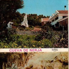 Postales: ACORDEON DE 10 POSTALES. CUEVAS DE NERJA. FOTOCOLOR VALDIVIESO. 1973.. Lote 27647885