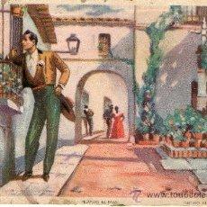 Postales: BUENA POSTAL ESCENAS ANDLUZAS - PELANDO LA PAVA . Lote 27799233