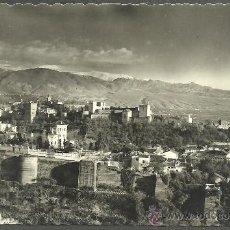 Postales: GRANADA - ALHAMBRA - VISTA GENERAL - HIJOS DE GALLEGOS - GRANADA. Lote 27915074