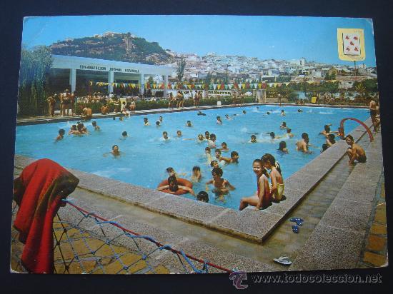 POSTAL DE BAENA.- BAENA. PISCINA MUNICIPAL. CIRCULADA -FINALES 1960- Y ESCRITA. (Postales - España - Andalucia Moderna (desde 1.940))