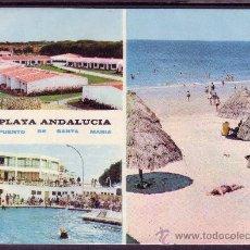 Postales: CADIZ - PUERTO DE SANTA MARIA - PLAYA ANDALUCIA. Lote 28322627