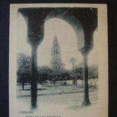 """Postales: """"CÓRDOBA. PATIO DE LOS NARANJOS"""". ESCRITA Y FECHADA EL 8-IV-1902. Lote 28345898"""