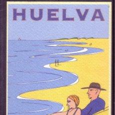 Postales: HUELVA - PATRONATO DE TURISMO - DESTINO PLAYAS. Lote 28366873