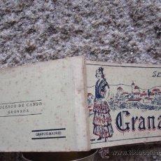 Postkarten - GRANADA-TACO GRAFOS CON 18 DE 20 POSTALES CORRELATIVAS-SERIE 4ª S/C- DE LA 61 A LA 80 INC PERFECTO - 28440359