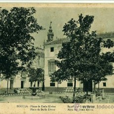 Postales: POSTAL SEVILLA. PLAZA DE DOÑA ELVIRA. HUECOGRABADO MUMBRU BARCELONA. Lote 28508499