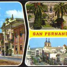 Cartes Postales: CADIZ- SAN FERNANDO- BELLEZAS DE LA CIUDAD. Lote 28539747