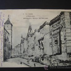 "Postales: ""CÓRDOBA. MEZQUITA: MUROS EXTERIORES"".CIRCULADA, ESCRITA Y SELLO 10 CTS DE ALFONSO XIII (10-IV-06). Lote 28570442"