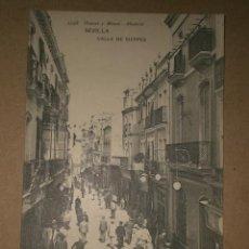 Postales: SEVILLA.- CALLE DE SIERPES.. Lote 28631866
