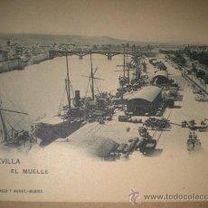 Postales: SEVILLA.- EL MUELLE. . Lote 28631867
