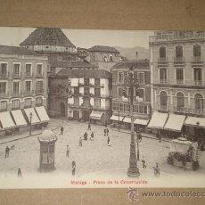 Postales: MÁLAGA.- PLAZA DE LA CONSTITUCIÓN.. Lote 28631882