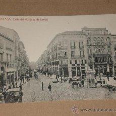 Postales: MÁLAGA.- CALLE DEL MARQUÉS DE LARIOS.. Lote 28631884