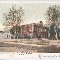 Postales: MALAGA - LA ESTACION - (8033). Lote 28648597