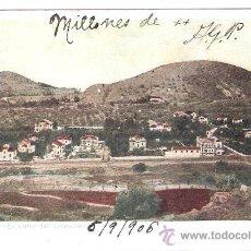 Postales: MALAGA - EL VALLE DEL LIMONAR - (8034). Lote 28648645