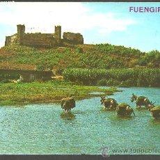 Postales: FUENGIROLA (MÁLAGA) - EL CASTILLO - ED. ARRIBAS - CIRCULADA, 1975. Lote 34088638