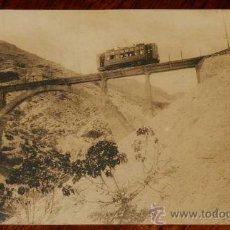 Postkarten - ANTIGUA POSTAL DE SIERRA NEVADA (GRANADA) PUENTE DEL BLANQUILLO, TRANVIA, FERROCARRIL, TREN - Nº 10 - 28778529
