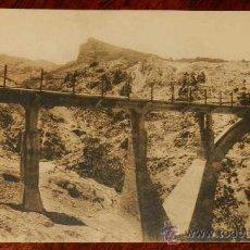 Postkarten - ANTIGUA POSTAL DE SIERRA NEVADA (GRANADA) PUENTE DEL BLANQUILLO, TRANVIA, FERROCARRIL, TREN - Nº 11 - 28778548