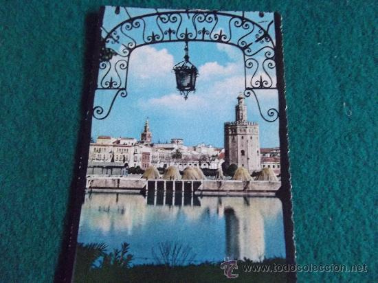 SEVILLA-TORRE DEL ORO-ESCRITA-1960 (Postales - España - Andalucia Moderna (desde 1.940))