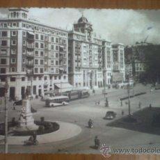 Postales: ANTIGUA POSTAL PLAZA DEL GENERAL QUEIPO DE LLANO MALAGA. Lote 28914498