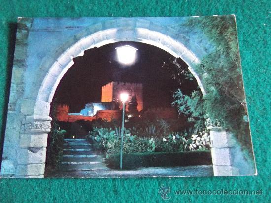 ALMERIA-ARCO ROMANO-ALCAZABA-ESCRITA (Postales - España - Andalucia Moderna (desde 1.940))