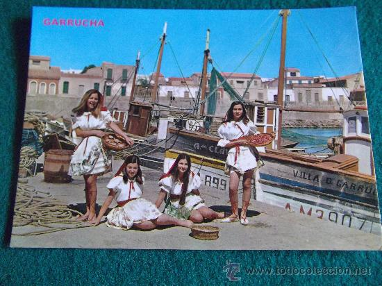 ALMERIA-ESCRITA-GARRUCHA- (Postales - España - Andalucia Moderna (desde 1.940))