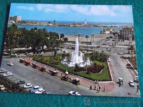 MALAGA-COSTA DEL SOL-LA MARINA Y PUERTO- (Postales - España - Andalucia Moderna (desde 1.940))