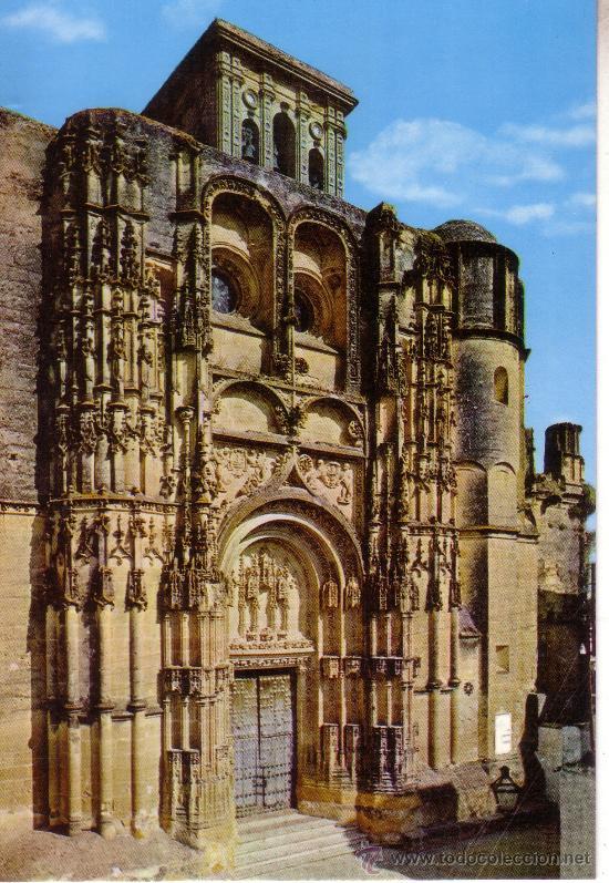 CADIZ - ARCOS DE LA FRONTERA - IGLESIA DE SANTA MARIA - FACHADA PRINCIPAL (Postales - España - Andalucia Moderna (desde 1.940))