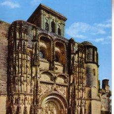 Postales: CADIZ - ARCOS DE LA FRONTERA - IGLESIA DE SANTA MARIA - FACHADA PRINCIPAL. Lote 29136862
