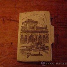 Postales: BLOQUE DE FOTO POSTALES GRANADA .. Lote 29138263