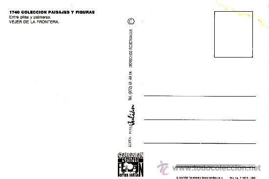 Postales: Postal Vejer de la Frontera - Foto 2 - 38956592